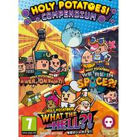 Image of Holy Potatoes Compendium Badge Collectors Edition
